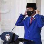 Presiden RI Joko Widodo berbicara pada Sesi Debat Umum Sidang Majelis Umum Ke-75 Perserikatan Bangsa-Bangsa secara Virtual pada hari Rabu (23/9/2020), dari Istana Merdeka, Jakarta. (Foto: BPMI)